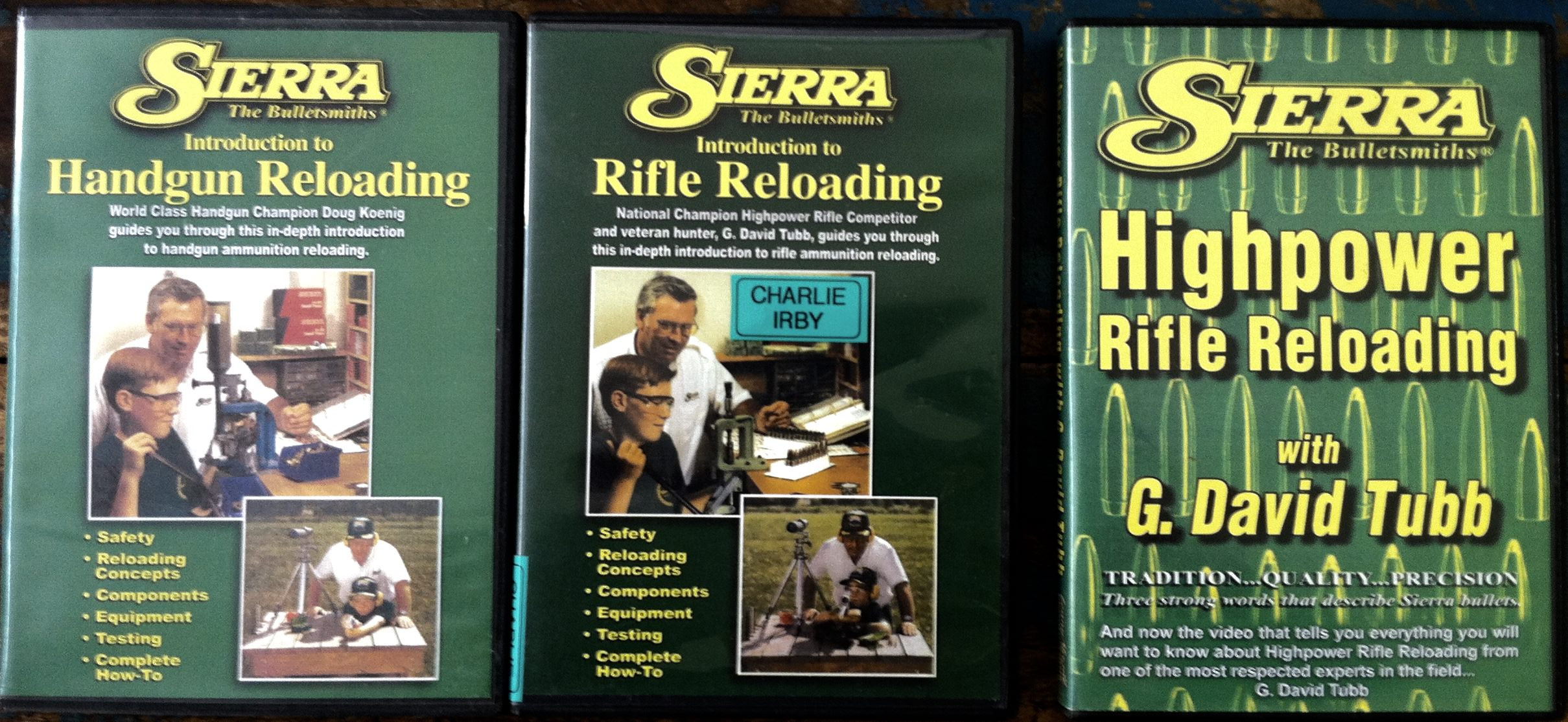 'HANDLOADING'...Building confidence in your newly acquired skill set... 2