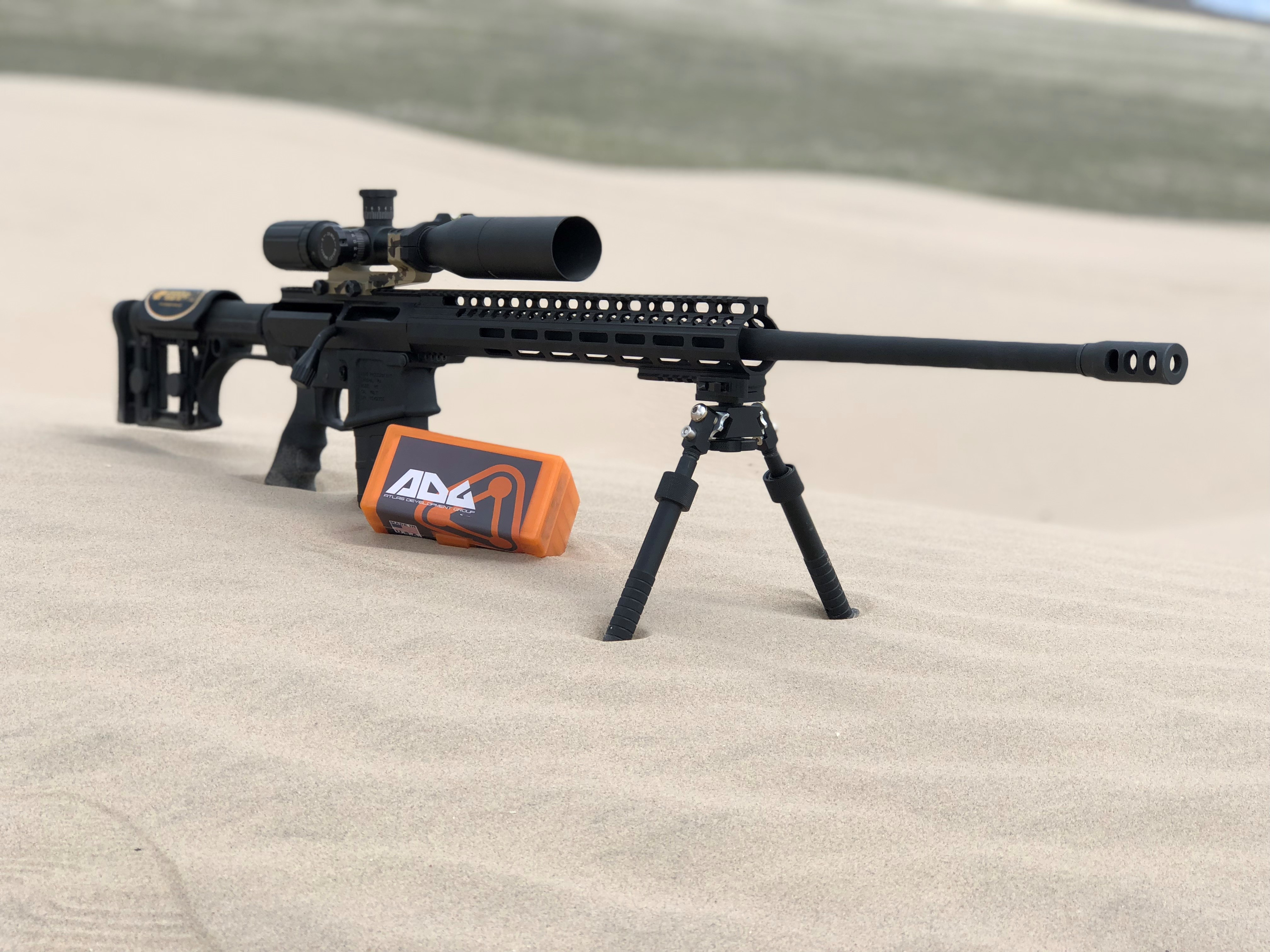 Why a bolt action AR-10? 2