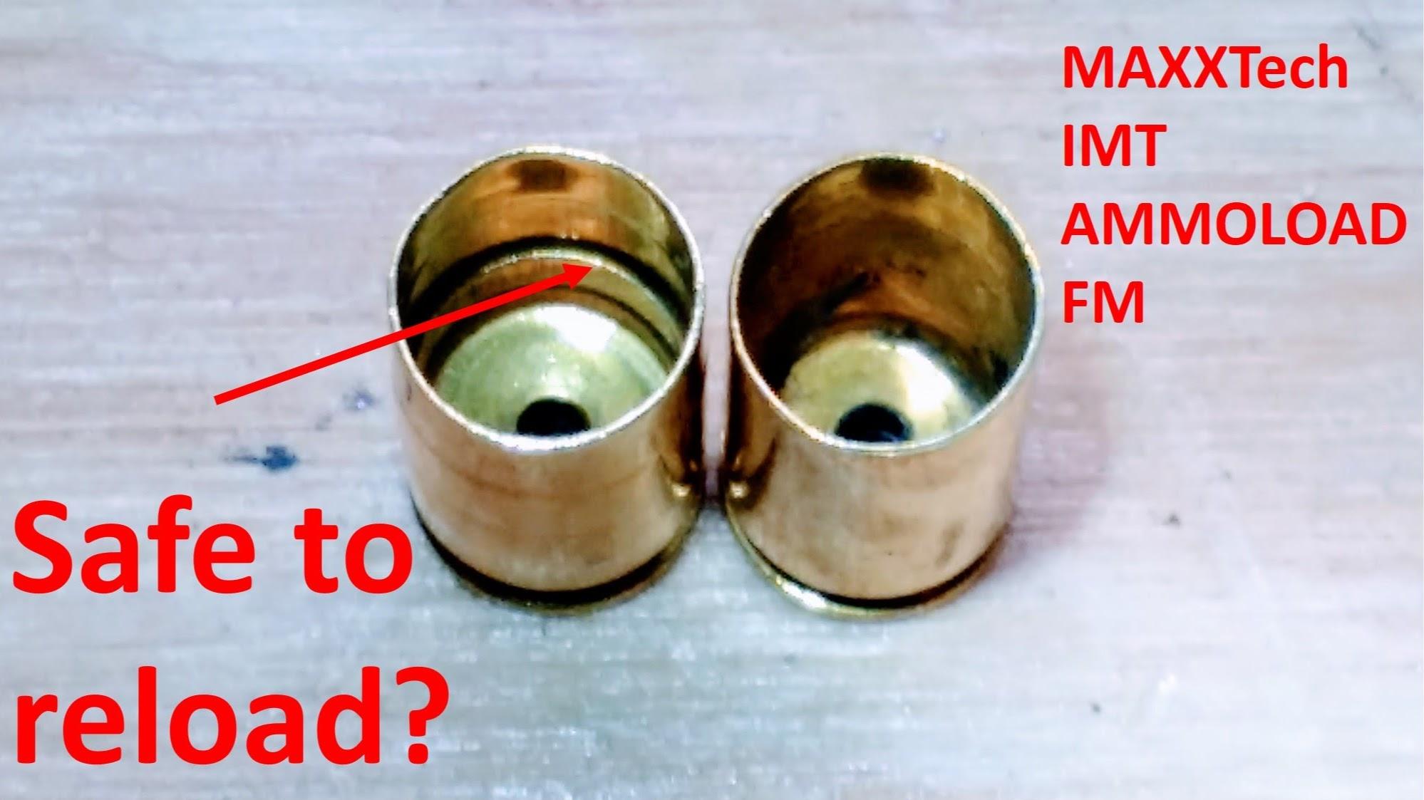 Funny 9mm brass