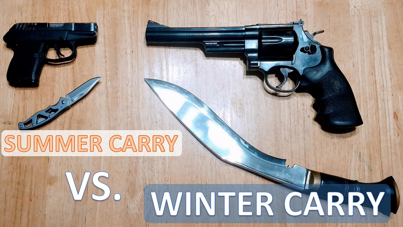 Summer vs Winter Carry