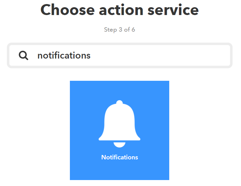Configure Custom Notifications using IFTTT 26