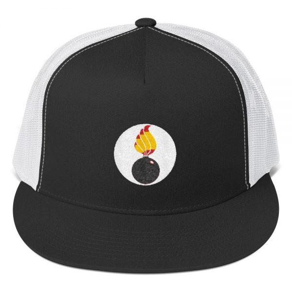 Ordnance Insignia Trucker Cap - White Circle 1