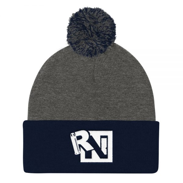 Pom Pom Knit Cap - The Reloaders Network 1