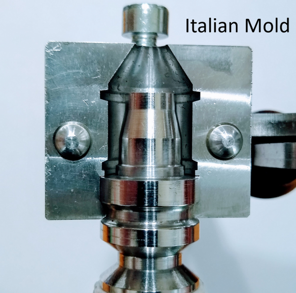 """Special"" Base Pin for the Italian Slug Mold 1"