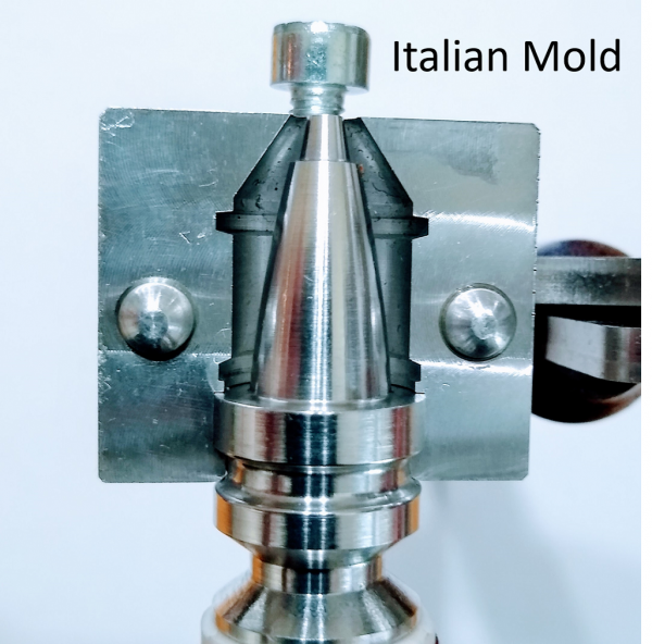 """Universal"" Base Pin for the Italian Slug Mold 1"