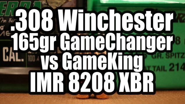 308 Win – 165gr Sierra GameChanger and GameKing
