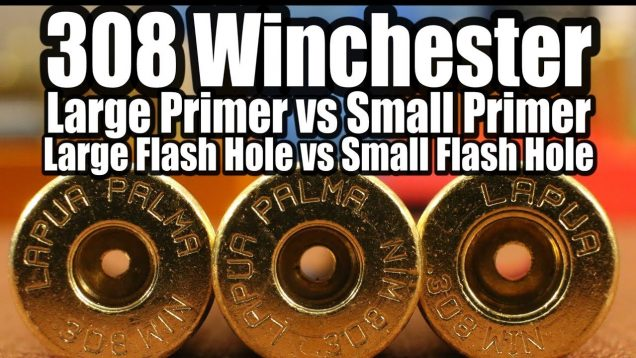 308 Win – Lg vs Sm Primers and Flash Holes