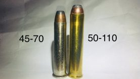 45-70 vs 50-110 Winchester lever-actions rifle /carbine