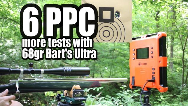 6 PPC – More tests with 68gr Bart's Ultra and N133
