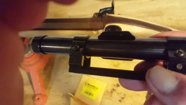 Buffalo Rifle weekend update…Scope Base!