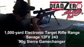 Dead Zero Shooting Park 1000 Yard Shot Marker Electronic Targets