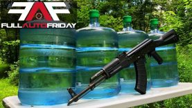 Full Auto Friday! AK-47 vs H2O?