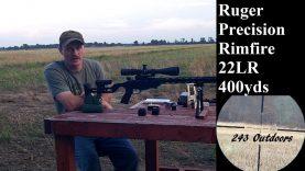 Ruger Precision Rimfire 22LR 400 Yards