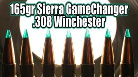 Sierra GameChanger 165gr in 308 Winchester