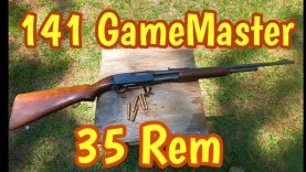 141 GameMaster Cal 35 Remington