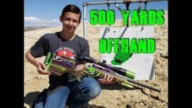 22 Magnum 500 yards Offhand