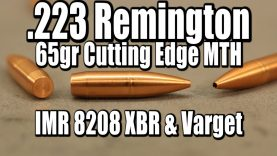 .223 Rem – 65gr Cutting Edge MTH with 8208XBR and Varget
