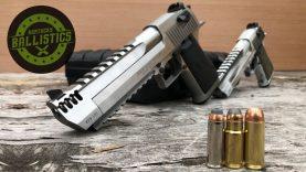 429 DE vs 50 AE vs 44 Magnum vs Pine Boards!