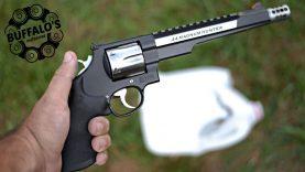.44 Magnum 100 yard water test (240 gr XTP)