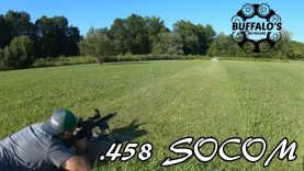 .458 SOCOM {300 gr Nosler Ballistic Tip} 100 yard water test