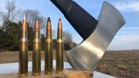 50 BMG vs Axe ?