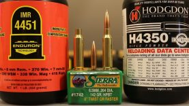 6.5 Creedmoor – 142gr Sierra Match King with H4350 & IMR4451