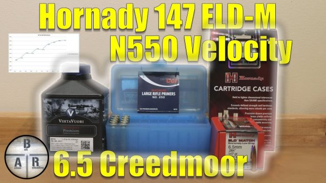 6.5 Creedmoor – 147 ELD-M with VihtaVuori N550 Velocity Test