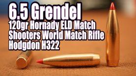 6.5 Grendel – 120gr Hornady ELD Match