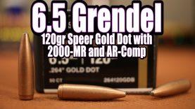 6.5 Grendel – 120gr Speer Gold Dot