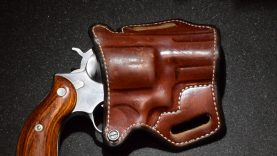 ANDREWS CUSTOM LEATHER HOLSTER REVIEW! Ruger Redhawk 2.5″