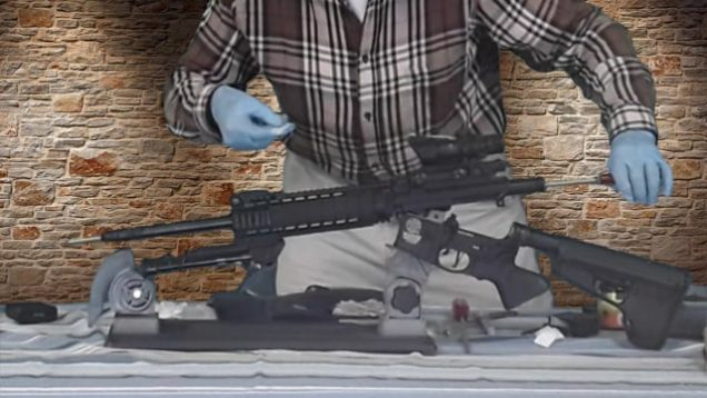AR-15 cleaning video