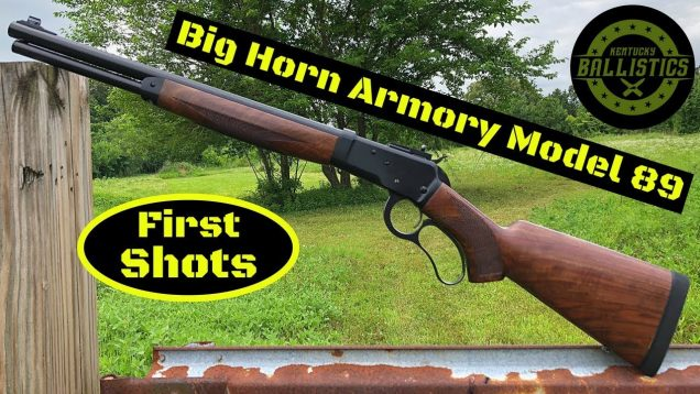 Big Horn Armory Model 89 (500 S&W Magnum)