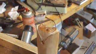 Casting a Pewter Forend Cap