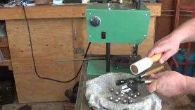 Casting the .69 Cal round ball.