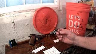 Cheap bullet trap