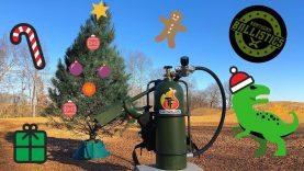 Flamethrower vs Christmas Tree