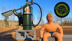 Flamethrower vs Stretch Armstrong