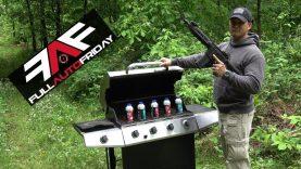 Full Auto Friday! AR-15 vs Grill! ?