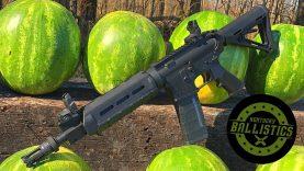 Full Auto Friday! AR-15 vs Watermelons! ?