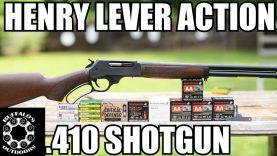 Henry .410 Lever Action Shotgun – America's 410
