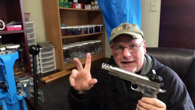 Kimber Target II 1911 9mm Single Stack Open Pistol