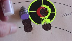 Moose Slugs Range Test 12 Gauge Results (3 Circles OPEN HOUSE ALL VIEWERS Video 49)