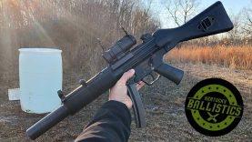 MP5 vs 55 Gallon Drum (Full Auto Friday)
