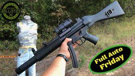 MP5 vs Body Armor (Full Auto Friday)