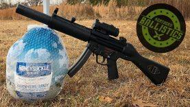 MP5 vs Frozen Turkey (Full Auto Friday)