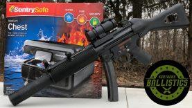 MP5 vs Sentry Safe (Full Auto Friday)
