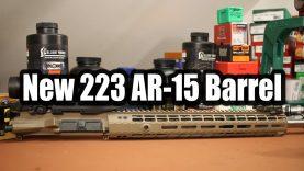 New 223 AR-15 Barrel