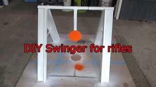 New targets – DIY rifle swinger for long range shooting – ELR LRS