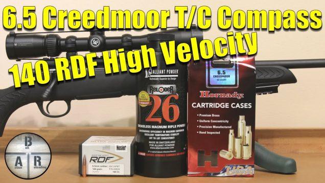 Nosler 140 RDF with Allaint Reloder 26 – Thompson Center Compass – 6.5 Creedmoor