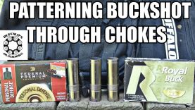 Patterning 00 Buckshot part 3 – through different chokes